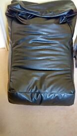 Black Large Bean Bag