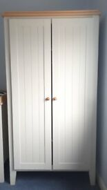Child's Wardrobe - Mamas & Papas Savannah wardrobe (with option for matching chest of drawers)