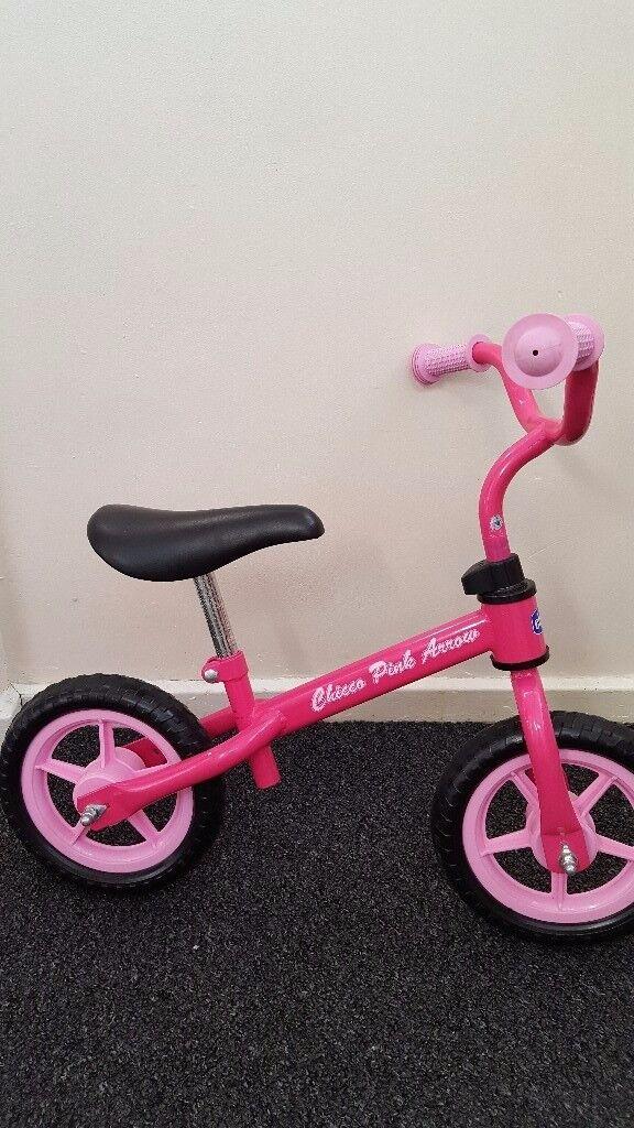 Girls balance bike for sale. Excellent conditon £15
