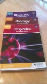 National 5 SQA Approved. Hodder & Gibson Chemistry, Biology, Physics