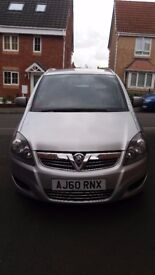 2011 Vauxhall Zafira 1.7 CDTI Ecoflex Energy Leicester Taxi Plate 96000 miles part service history