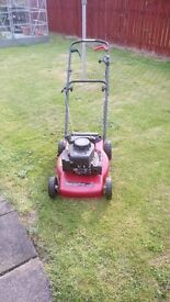 Self propelled lawnmower really good condition. Reason for selling - I have bought lightweight one