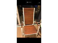 Ikea Vindalso reclining chair with pillow