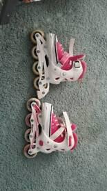 SFR Camden Kids Adjustable Inline Roller Skates Size 12-2