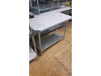 Brand new commercial stainless steel table