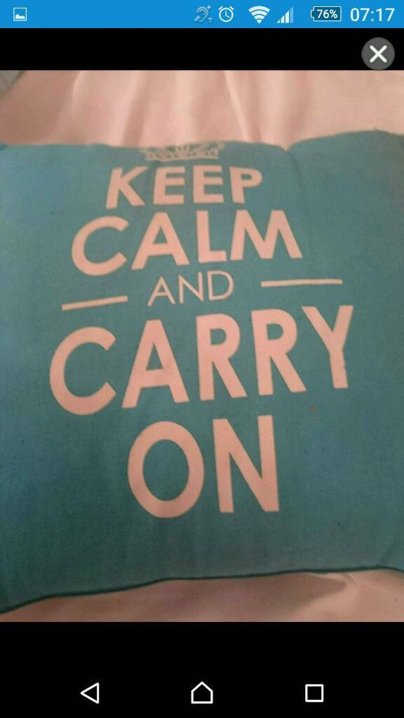 Keep calm andItems ideal Xmas giftin Stoke on Trent, StaffordshireGumtree - Keep calm relax cushion keep calm and carry on cushion keep calm and apply lipstick mirror