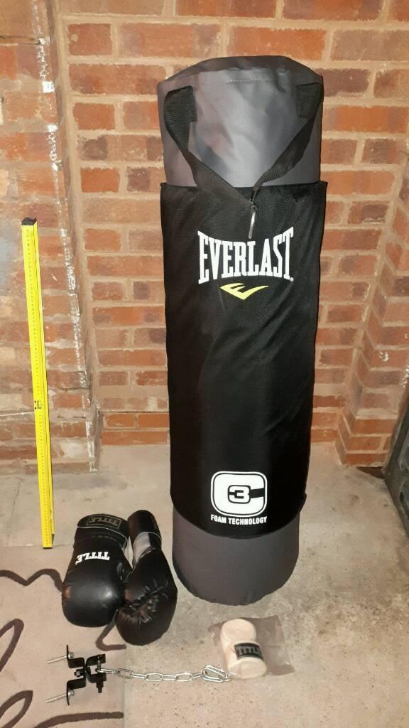 Everlast C3 Foam Heavy Punch Bag 4 Foot