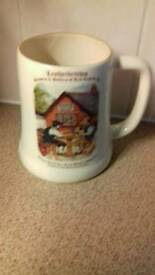 Leatherbrithes brewery ceramic beer mug