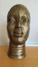 Nigerian bronze bust