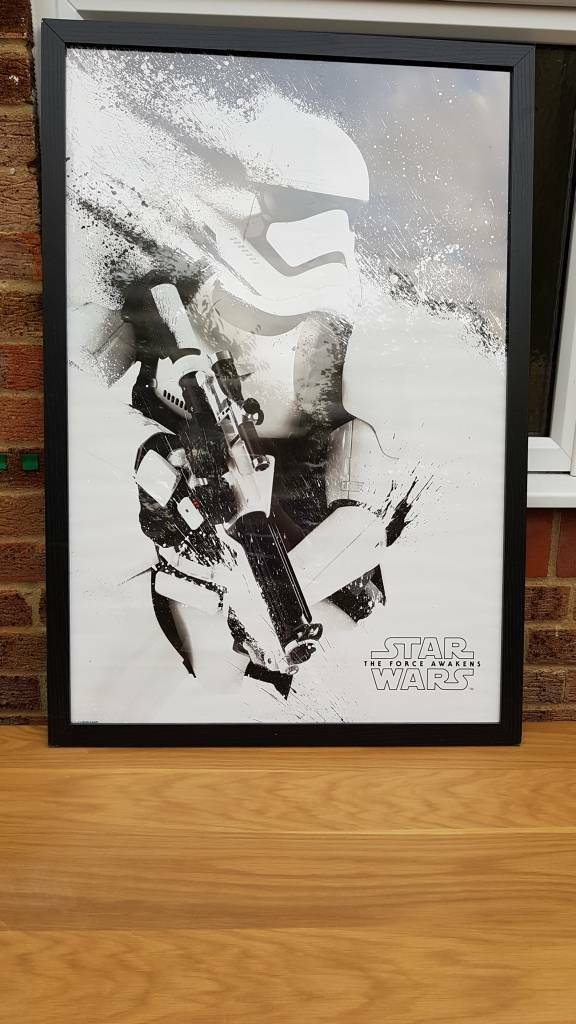 Star wars the force awakens poster in frame | in Hungerford ...