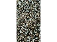 Free Lime stone and pea gravel
