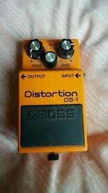 Boss DS1 Guitar Distortion pedal