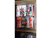 66 Inside United Magazines and 180 ManU programmes