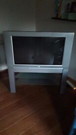 """Philips 31"""" TV with stand (old style)"""