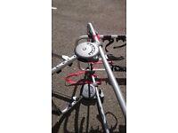 Halfords universal hatchback 3 bike rack