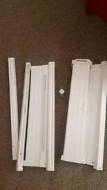 Folding stairgates