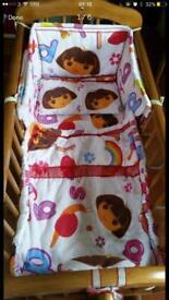 Baby Swinging Crib. With Free bedding sets