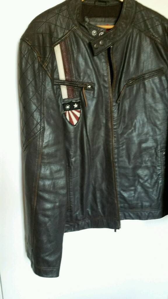 Leather jacket by Joe brownin Torquay, DevonGumtree - Nice Joe brown light weight leather jacket in very dark brown colour. Excellent condition Biker style ideal for summer .No damage and all zips in working order. Well over £150 new check out prices in the Joe brown catalogue. Size 44 46 Too small for...