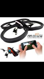 **PRICE REDUCED £180** New AR Drone 2.0 with accessories