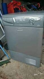 Hotpoint reverse action condenser tumble drier CTD40