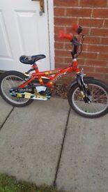 SOLD Boys Bike 16 inch