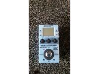 zoom ms-70cdr multistomp chorus delay reverb pedal