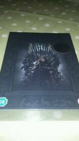 Brand new game of thrones box set