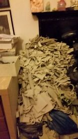 Free large pile of clay offcuts