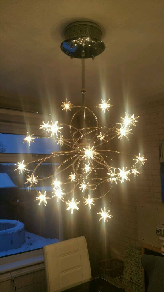 Beautiful Large Star Ceiling Light Ing