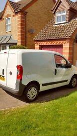 Fiat Fiorino 16v Multijet panel lined van . white year 2011 cd player.