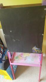 Disney princess chalkboard and whiteboard