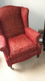Wing Back Arm Chair Laura Ashley