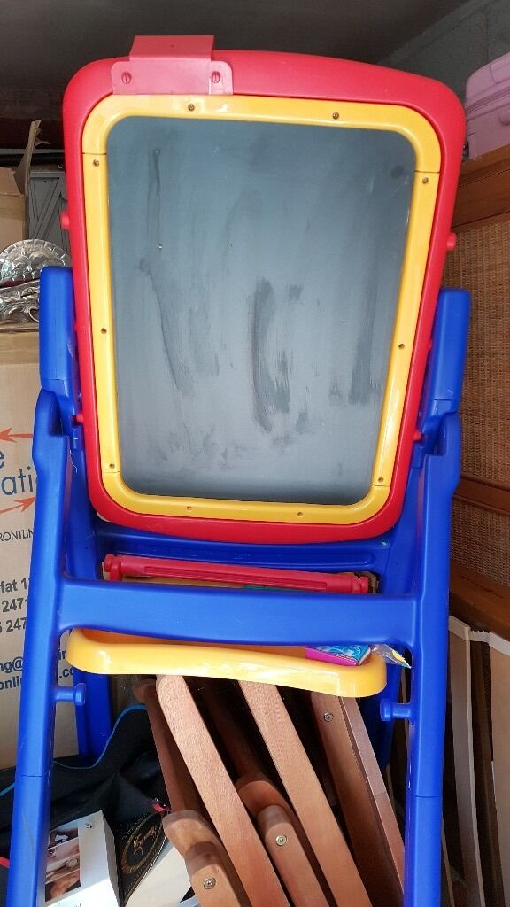 New Childrens Art PaintChalk boardin Rugby, WarwickshireGumtree - New childrens free standing art board. Its been stored in the garage since Christmas. Buyer to collect