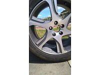 volvo xc70 alloy wheel and brand new tyre x1