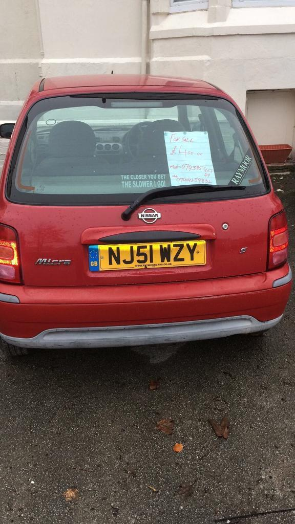 NISSAN MICRA RED COLOR GOOD IN CONDITION