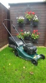 Hayter Hunter 41 Lawn Mower Quantum XM 35 Petrol Lawnmower
