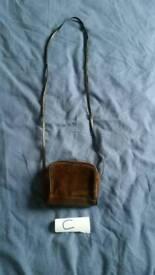 Cute brown small bag handbag fashion
