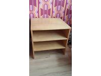 Wooden TV stand/storage unit