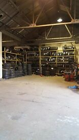 Brand new and part worn tyres
