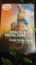 Health and Social Care level 2 Btec first
