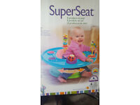 Used SuperSeat for a baby. It is still in an excellent condition.
