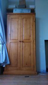 Solida hard wood cupboard wardrobe