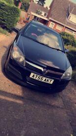 1.4 Black Vauxhall astra