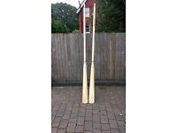 "3.4mts (11ft 2"") brand new baltic pine oars"