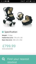 Concord neo travel system 3in1