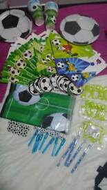 Bumper boys football party pack