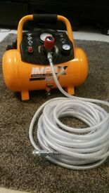 Impax professional power compressor IM200-12L comes with 20m 300psi air 8mm hose