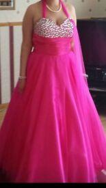 Beautiful puffy prom dress