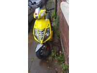 *Road Legal* MOT until may '18. 125cc Race GT moped