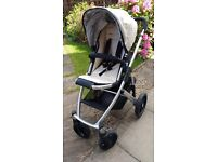 Uppababy Vista Buggy +Carrycot +Maxi Cosi car seat
